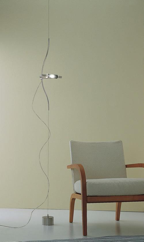 Lampada terra-soffitto ARCHETTO cromo|R7s alo ES 120watt