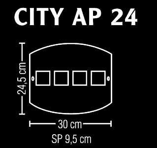 CITY 24 applique