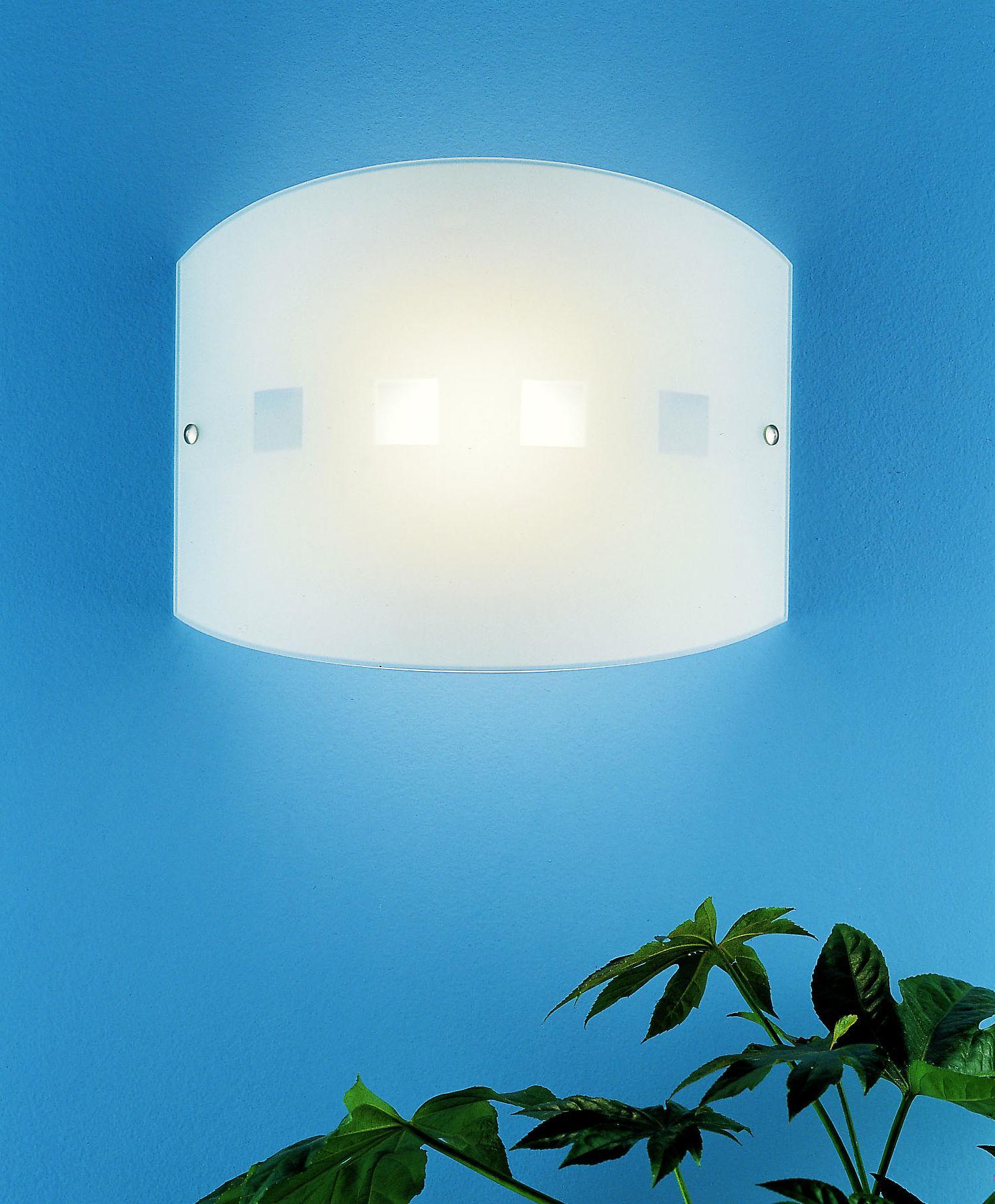 Applique o plafoniera CITY 45 ambra LED