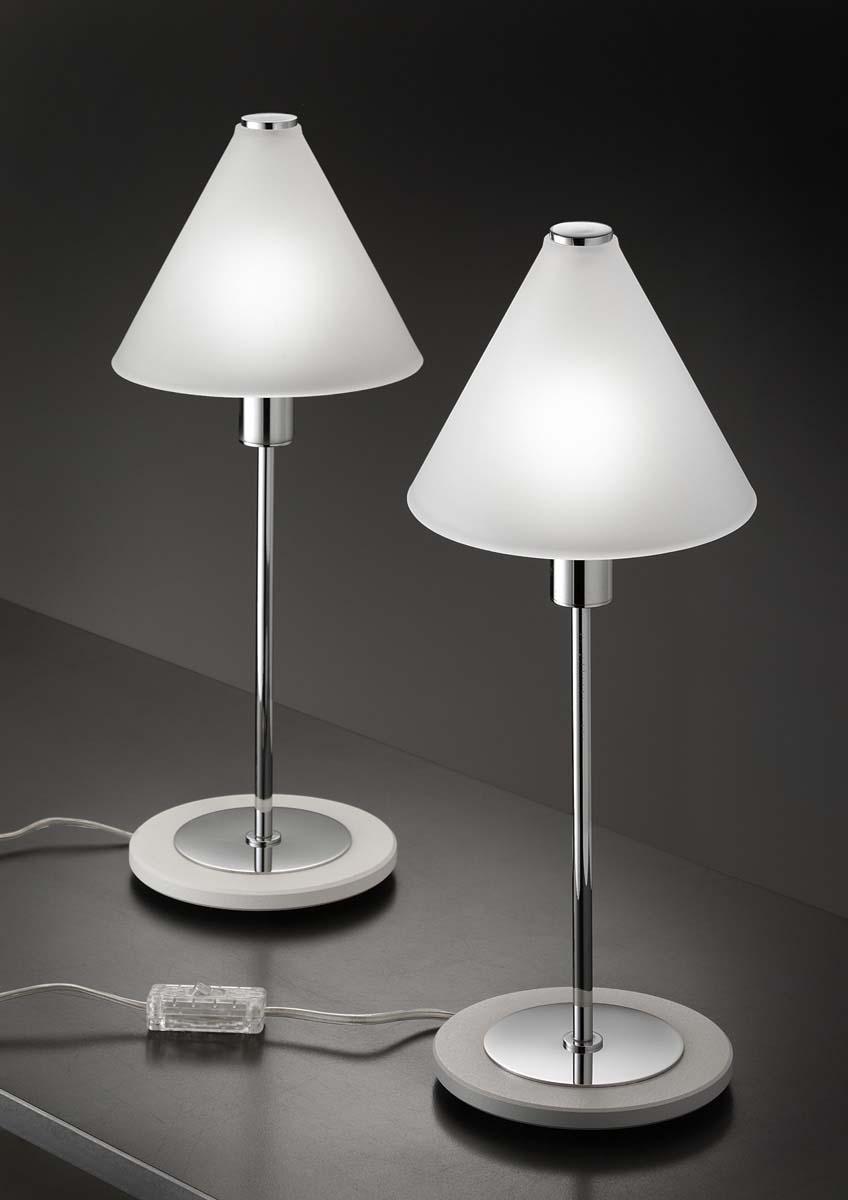 Lampada comodino  MODI' LED vetro satinato | E14