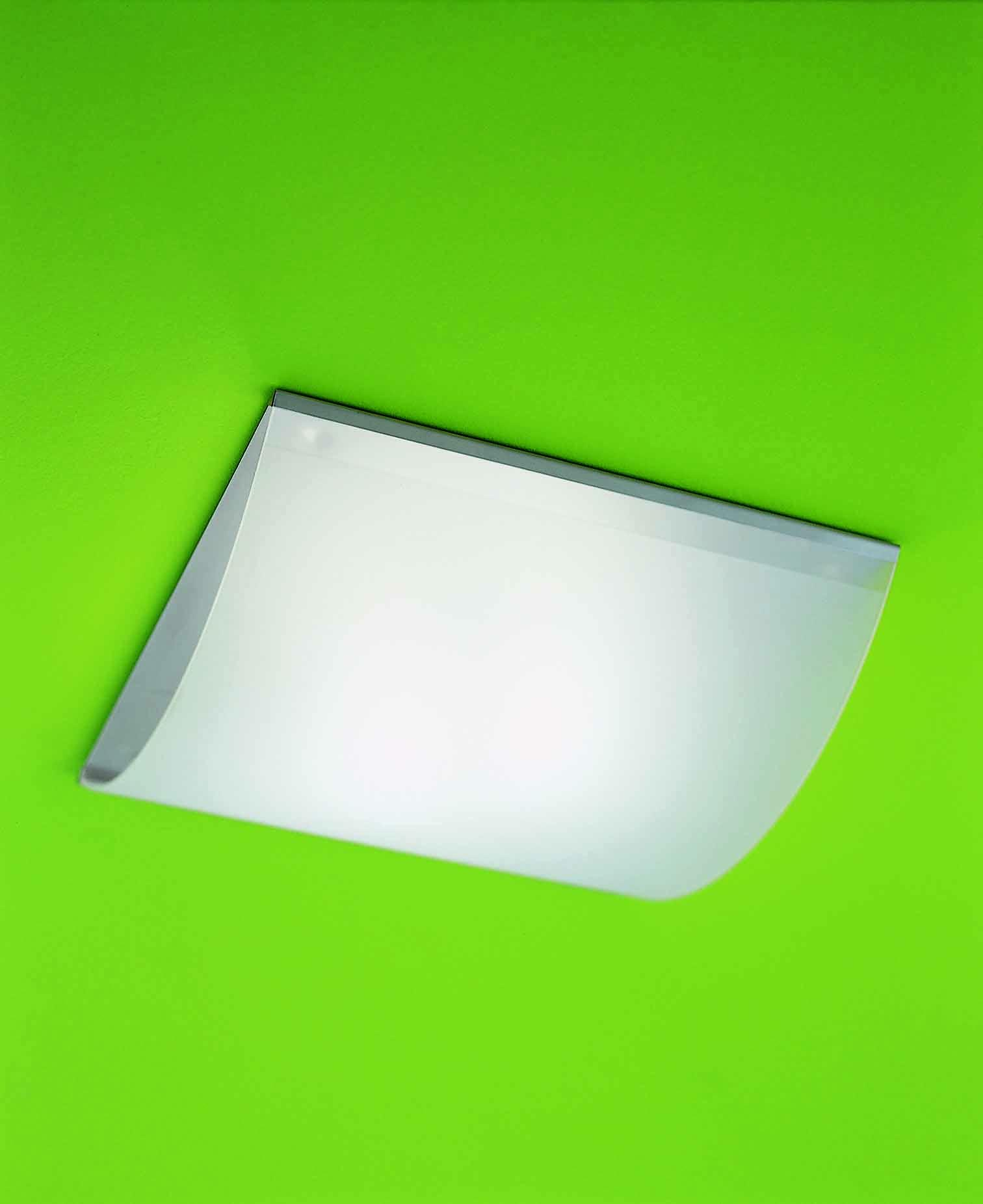 Applique o plafoniera in vetro NUMEA LED 45x45