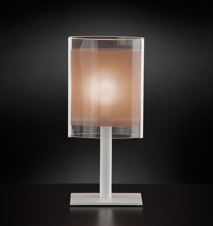 Lampada tavolo SAMBA LED arancio,bianco,giallo,marrone,verde|E27