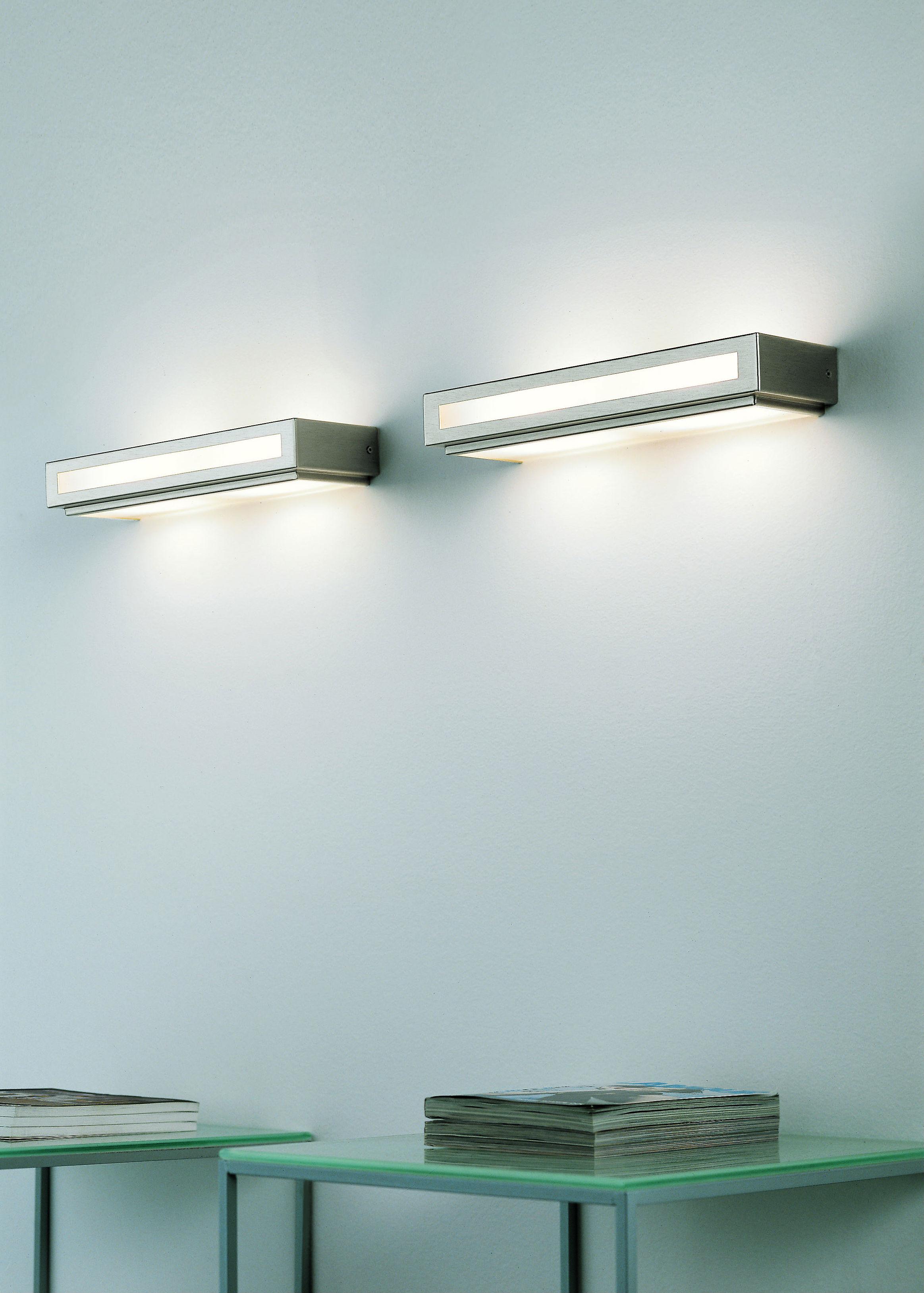 Lampada parete TOWN BIG LED cromo | 10 watt R7s 35x4cm