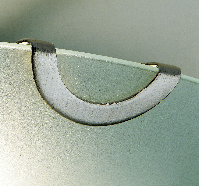 GALASSIA plafoniera in vetro satinato bianco