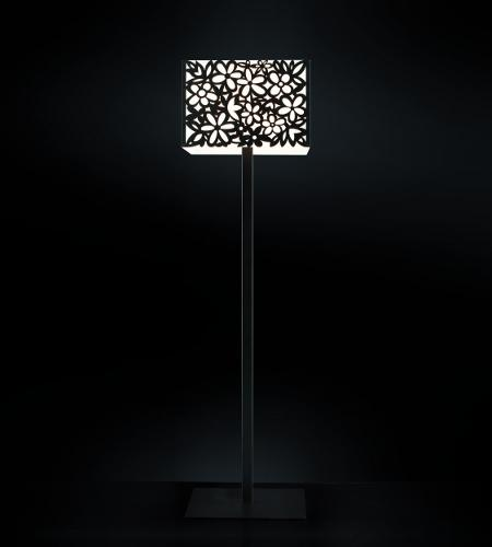 Lampada da terra MELANTHA nera E27 | LED