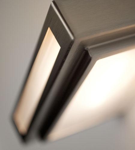 Lampada parete TOWN LED cromo | 10 watt R7s 18x4cm