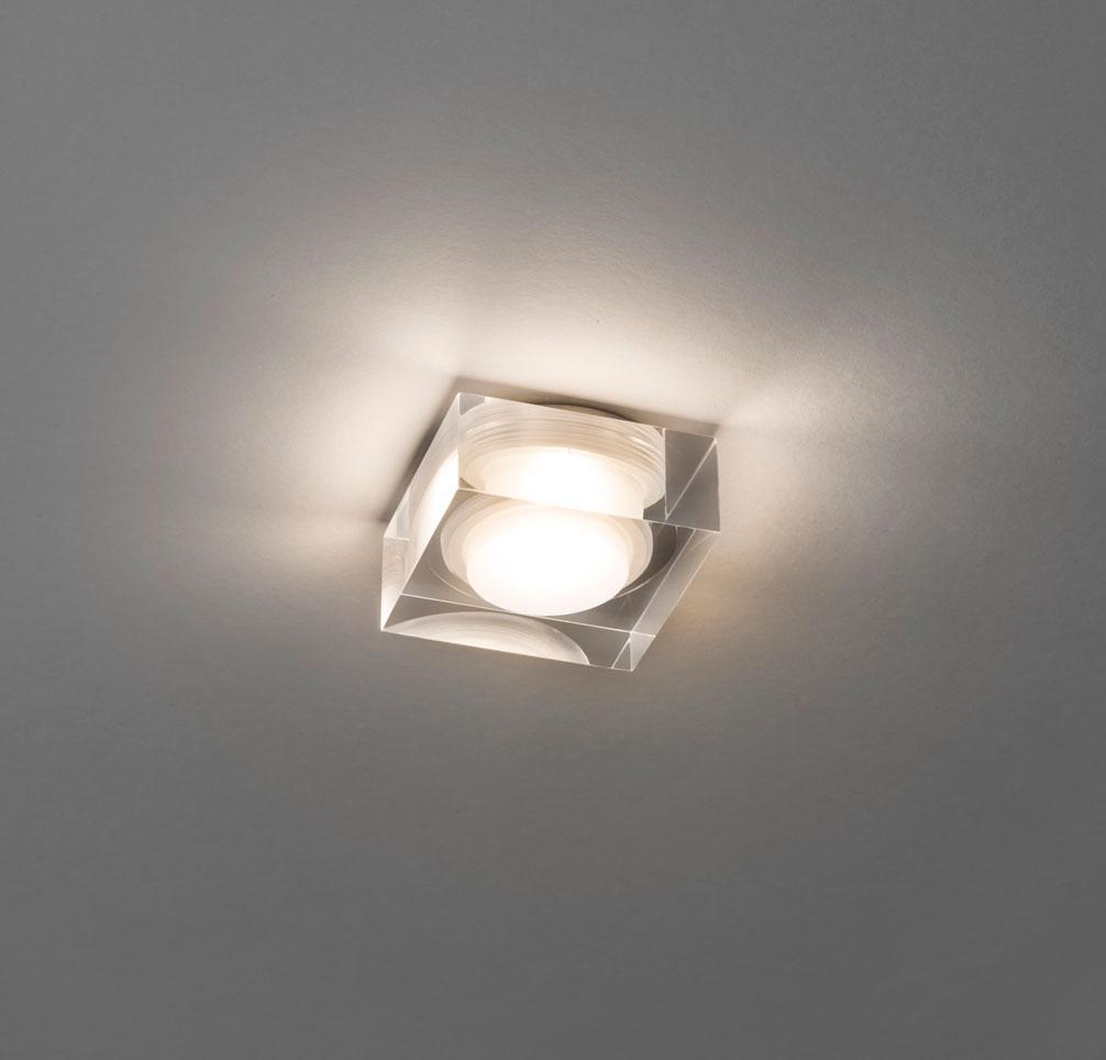 VANCOUVER 45 LED faretto bagno quadrato