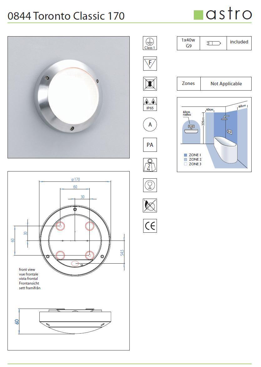 TORONTO CLASSIC 170 applique