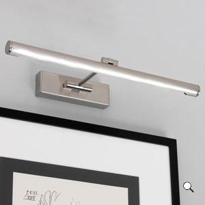GOYA 460 LED lampada da quadro nichel
