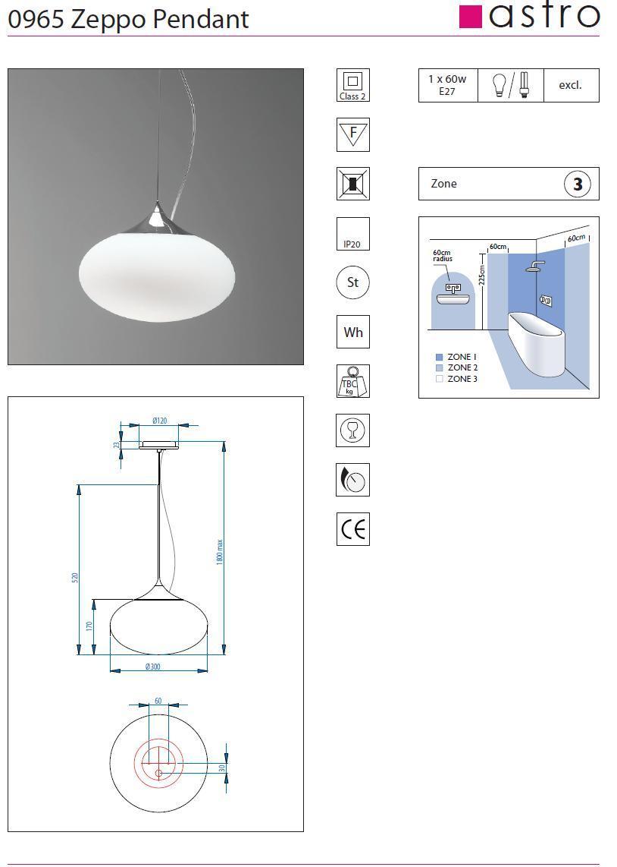 ZEPPO lampada sospensione