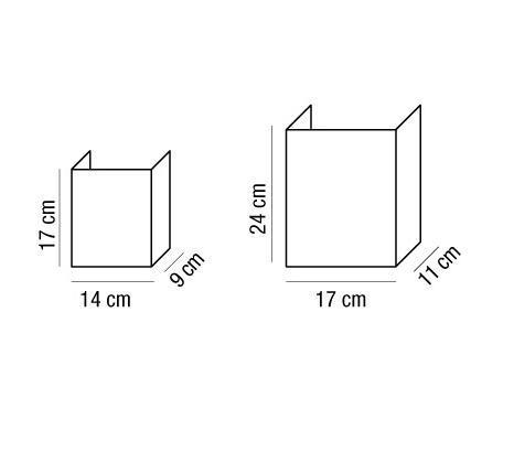 Applique ALTEA con paralume in tessuto iuta | E14 e E27