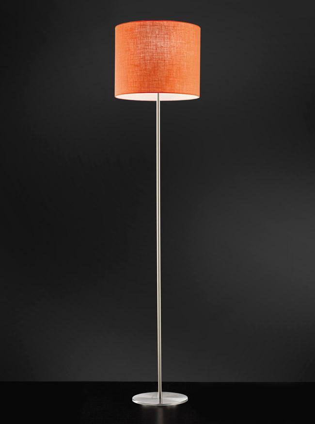 Lampada da terra SARA con paralume in tessuto \u00f8 50cm | H 180cm