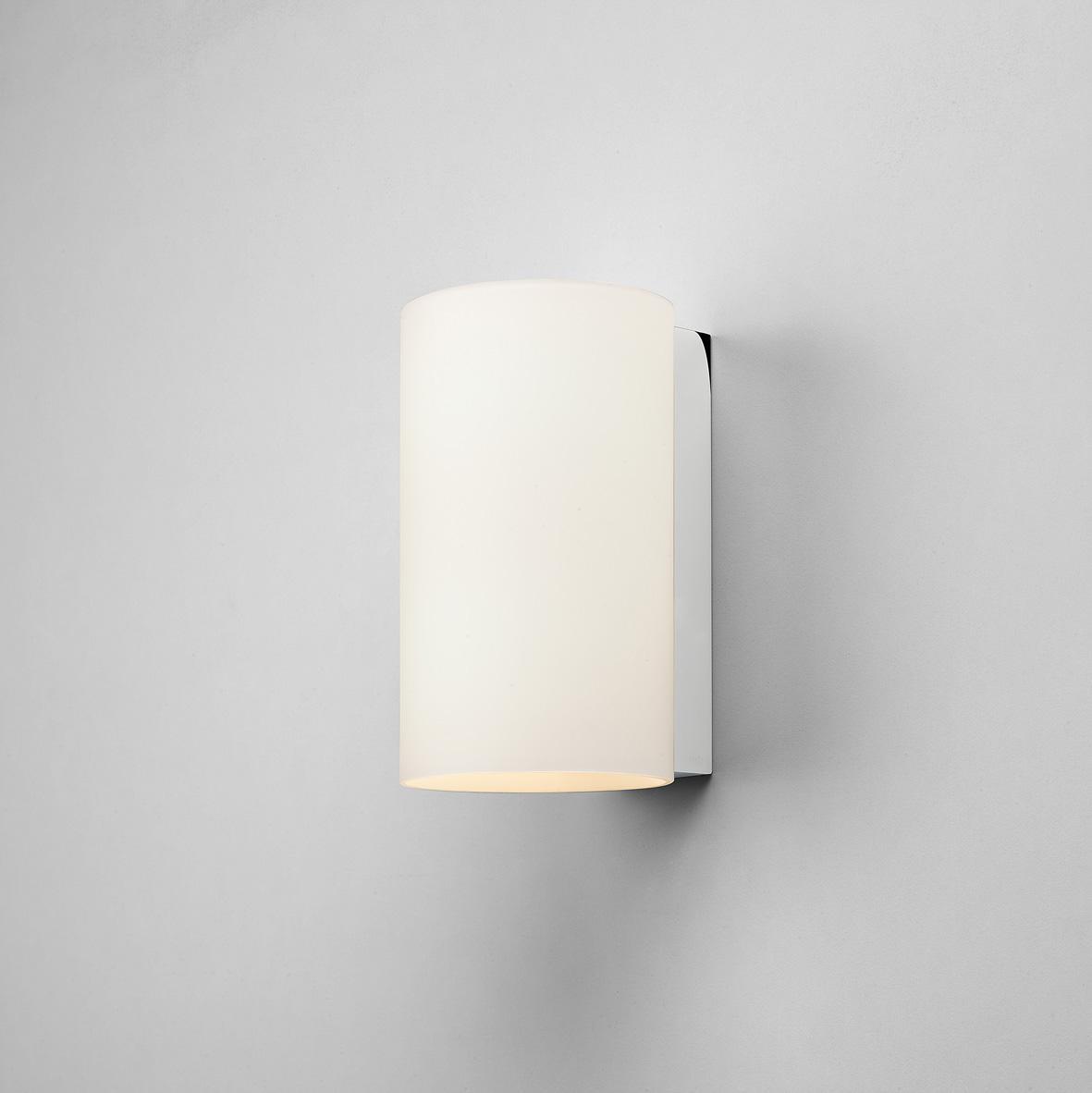 CYL 200 applique in vetro bianco