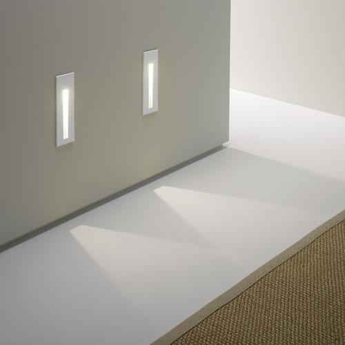 BORGO LED 55 applique incasso acciaio lucido