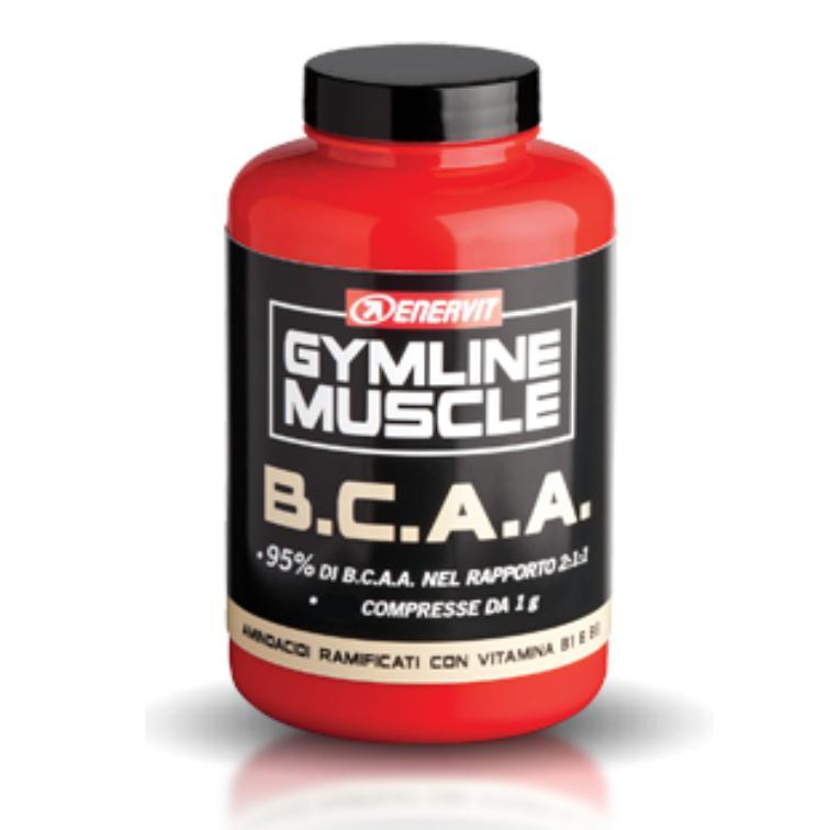 GYMLINE MUSCLE BCAA 120CPS