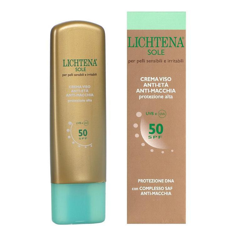 LICHTENA VISO SOLE ANTIMACCHIA 50+