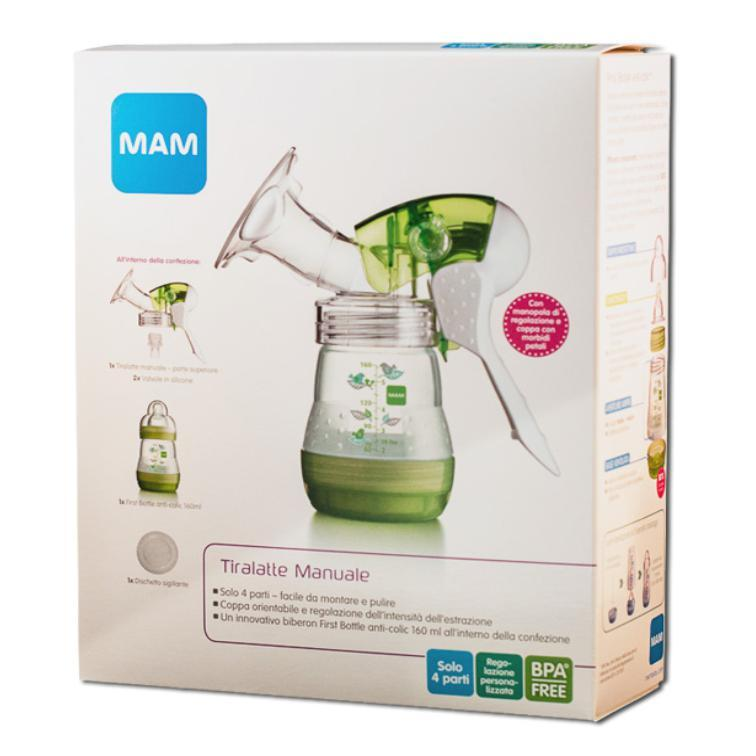 mam manual breast pump instructions