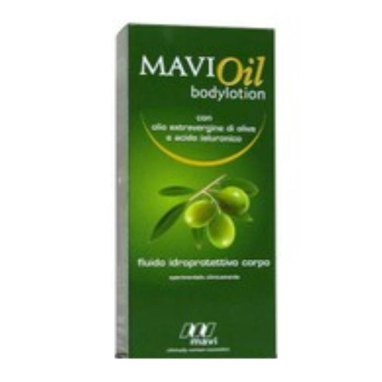 MAVIOIL BODYLOTION 200ML : FLUIDO CORPO A BASE DI OLIO DI OLIVA ED ACIDO IALURONICO