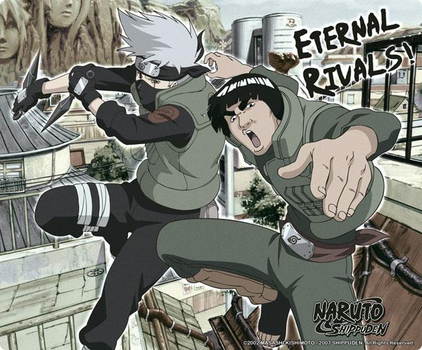 Naruto Shippuden Eternal Rivals mouse pad tappetino