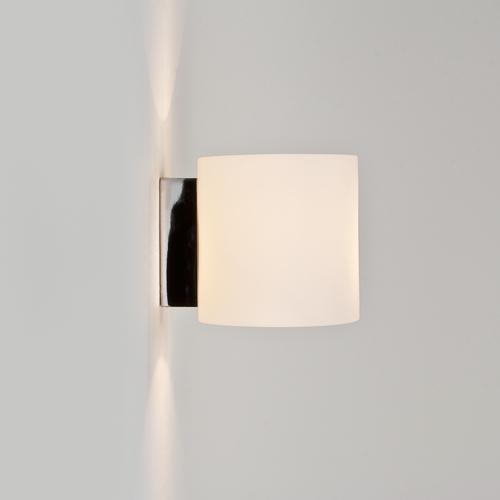 TOKYO applique con vetro bianco