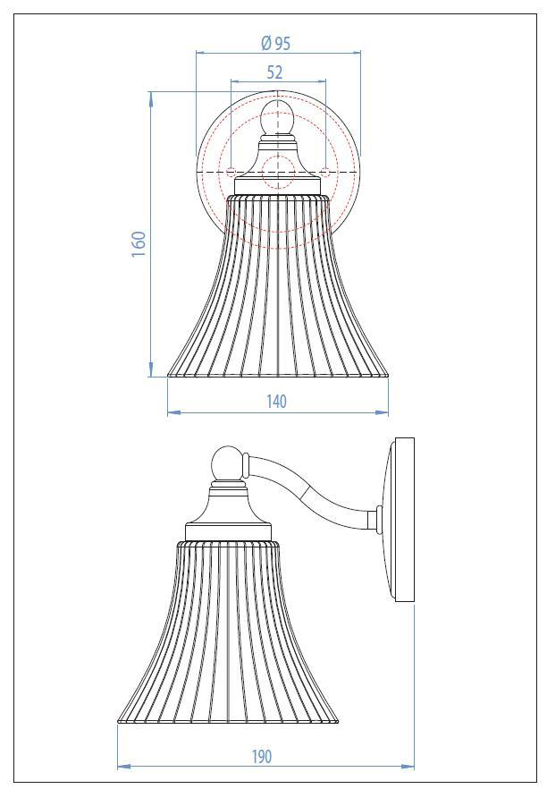 NENA lampada da parete