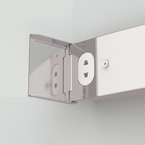 ANJA SHAVER  lampada da specchio per bagno