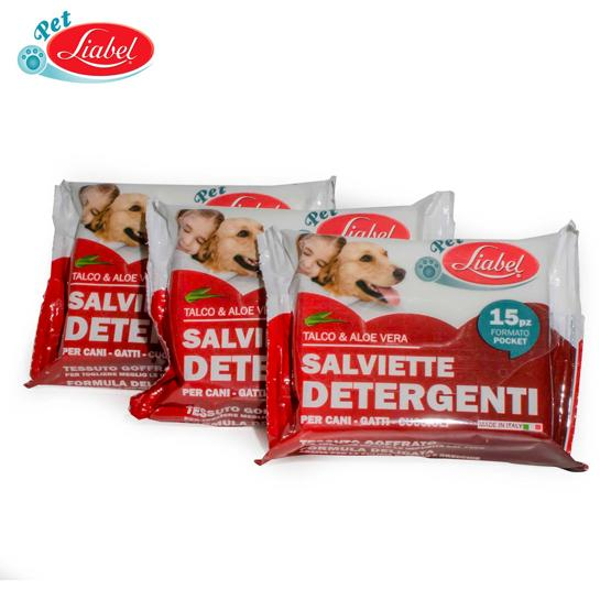 LIABEL PET SALVIETTINE DETERGENTI POCKET