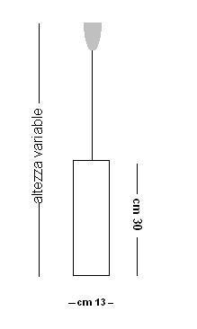 Lampada sospensione LYRA S1 paralume foglia argento | E14