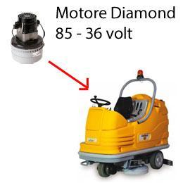 Diamond 85 36 volt Motore aspirazione lavapavimenti Adiatek