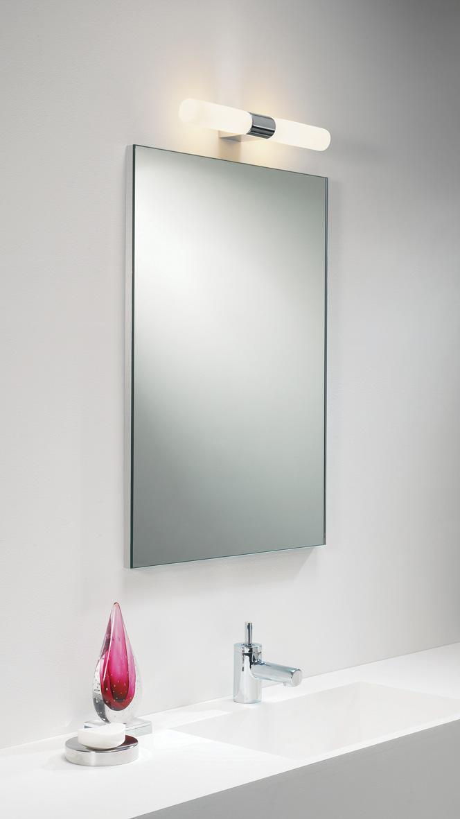Padova applique da specchio per bagno con doppia luce - Specchi ingranditori illuminati ...