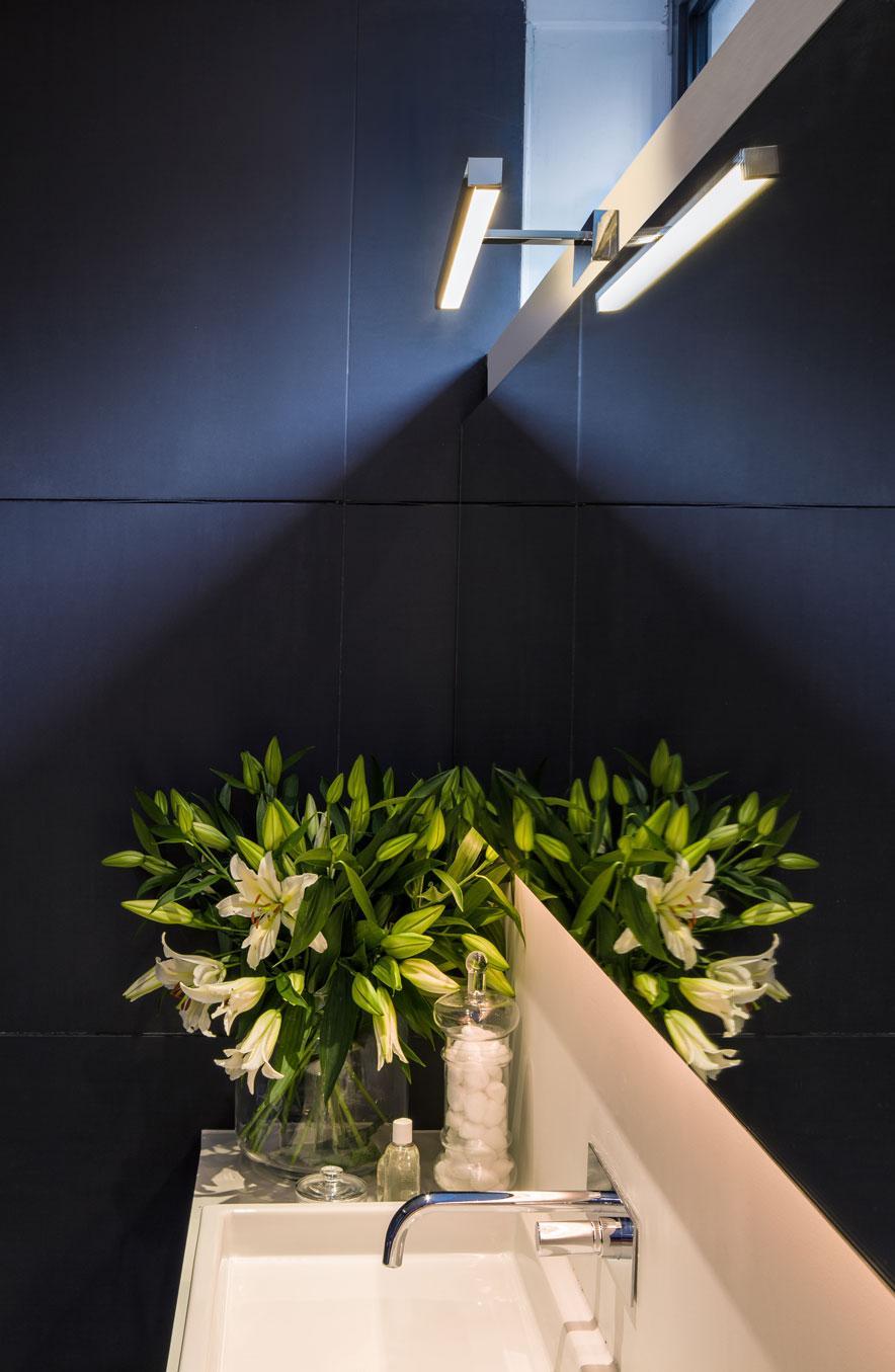 KASHIMA LED 350 lampada specchio bagno