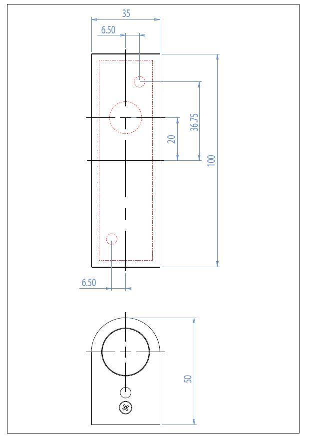 ALBA LED piccola applique da bagno