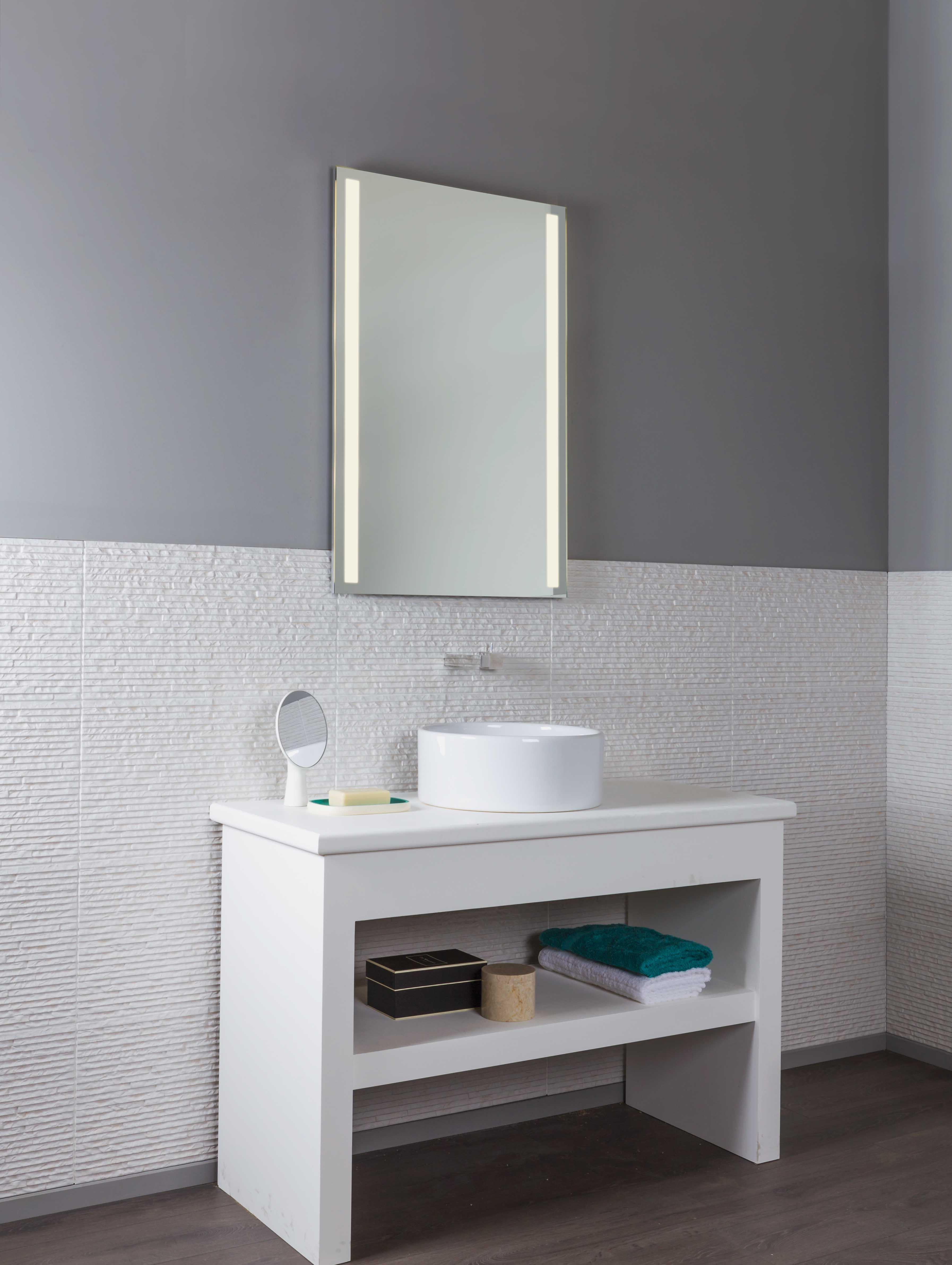 Avlon 900 led specchio luminoso da bagno ip44 citylux - Chiessi e fedi arredo bagno ...