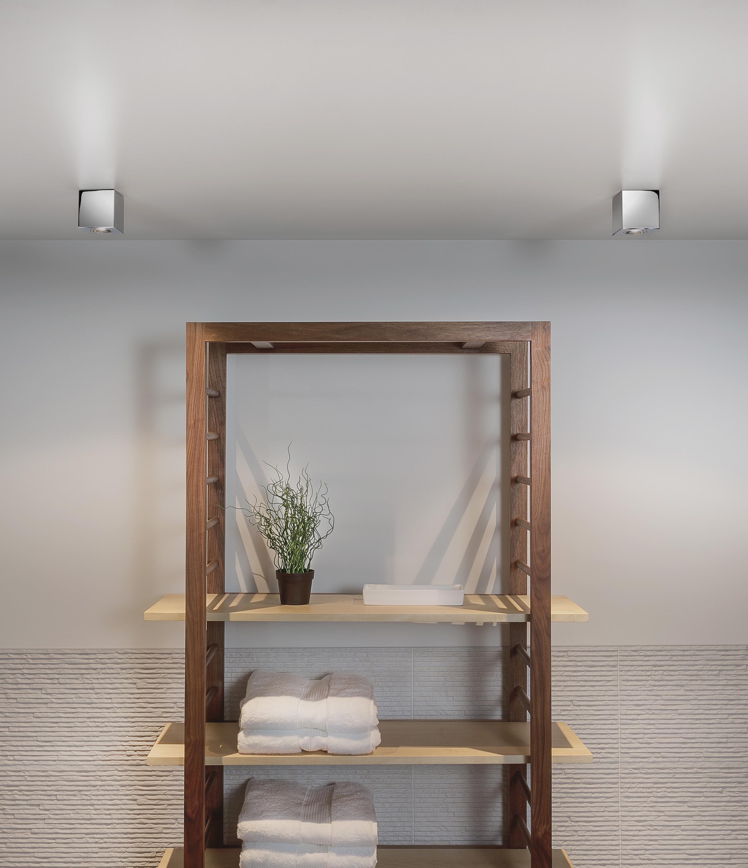 KOS LED faretto quadrato bianco
