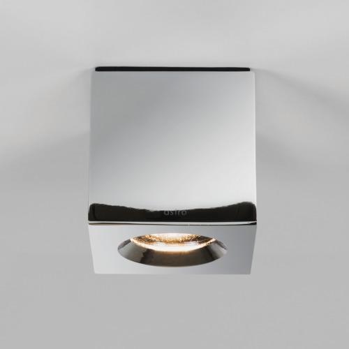 KOS LED faretto quadrato cromo