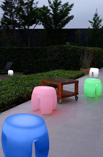 ROCK LED lampada da seduta ricaricabile