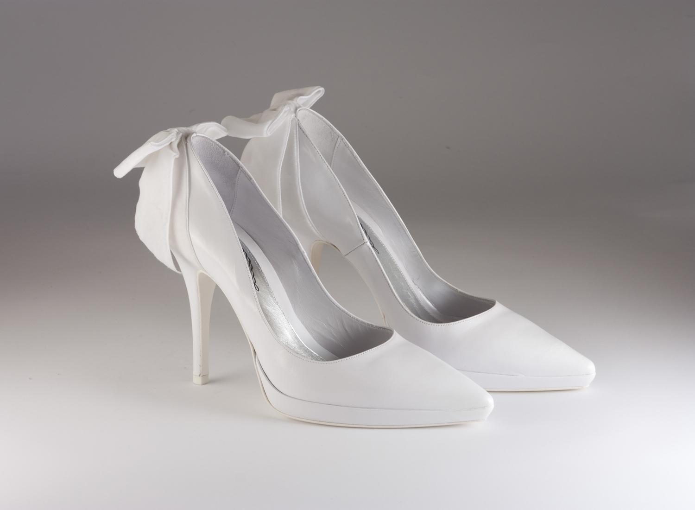 Scarpa donna elegante da sposa e cerimonia Francesco cod.22Z4512