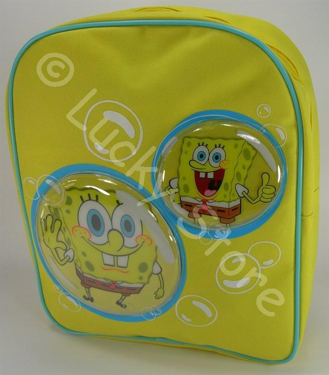 Spongebob zaino 3D asilo 30 cm nuovo originale zainetto