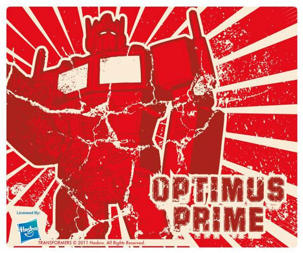 Transformers Optimus Prime mousepad tappetino mouse originale