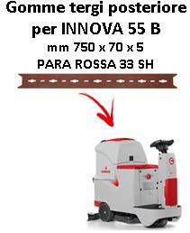 INNOVA 55 B GOMMA TERGI posteriore per lavapavimenti Comac