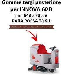 Gomma tergi posteriore per lavapavimenti  Comac INNOVA 60 B