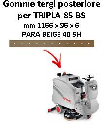 Gomma tergi per lavapavimenti TRIPLA 85 BS Comac