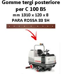 Gomma tergi posteriore per lavapavimenti COMAC - C 100  BS