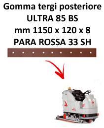 Gomma tergi posteriore per lavapavimenti COMAC ULTRA 85 BS