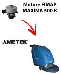 Motore Ametek di aspirazione per Lavapavimenti FIMAP MAXIMA 500 B