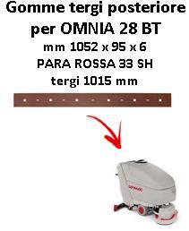Gomma tergi posteriore per lavapavimenti COMAC OMNIA 26 BT