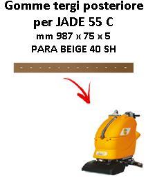 Gomma tergi posteriore per lavapavimenti ADIATEK - JADE 55 C