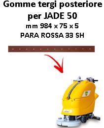 Gomma tergi posteriore per lavapavimenti ADIATEK JADE 50