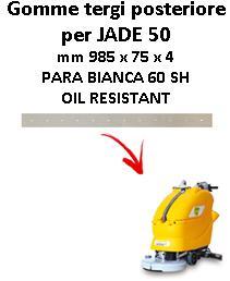Gomma tergi posteriore per lavapavimenti ADIATEK - JADE 50