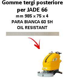 Gomma tergi posteriore per lavapavimenti ADIATEK modello JADE 66